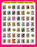 Gacha Robot Mystery Box Combo Vending Machine *NEW*