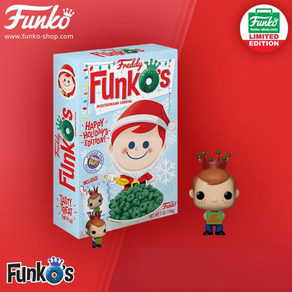 FunkO's Cereal: Santa Freddy 2018 Exclusive