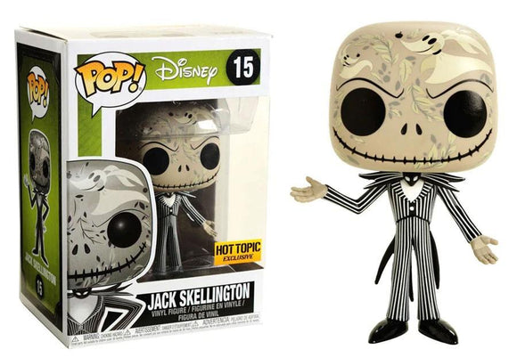 Funko Pop! Disney: The Nightmare Before Christmas - Jack Skellington #15 Hot Topic Exclusive