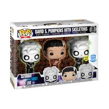 Funko Pop! SNL: GITD DAVID S. PUMPKINS WITH SKELETONS 3-PACK