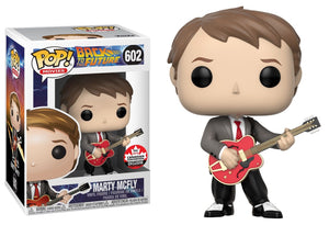Funko Pop! Movies: Back to the Future- Marty Mcfly #605 Canada Fan Expo 2018