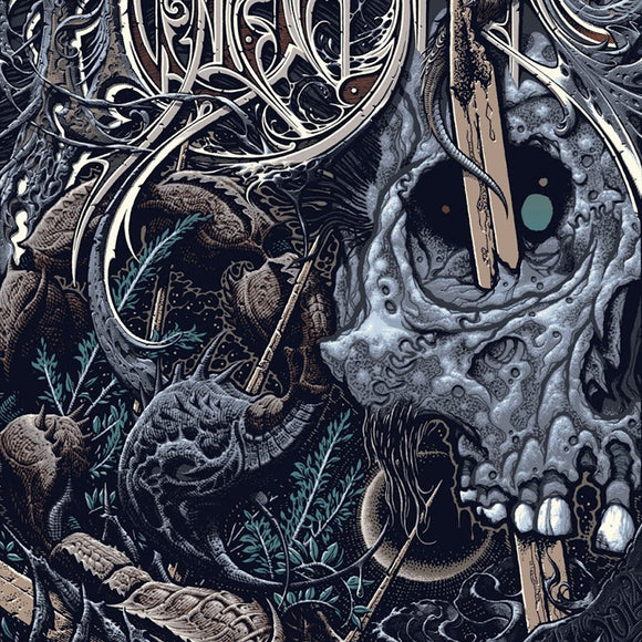 Aaron Horkey x Pushead - Hyperstoic Pushead Version, 2014