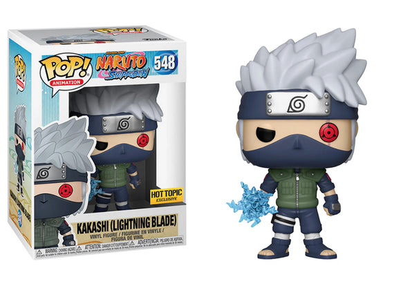 Funko Pop! Animation: Naruto Shippuden - Kakashi (Lightning Blade) #548 Hot Topic Exclusive