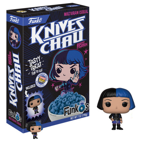 FunkO's Cereal: Scott Pilgrim vs. the World - Knives Chau