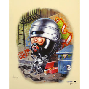 Mike Mitchell & Jason Edmiston - Robocop Dougnuts