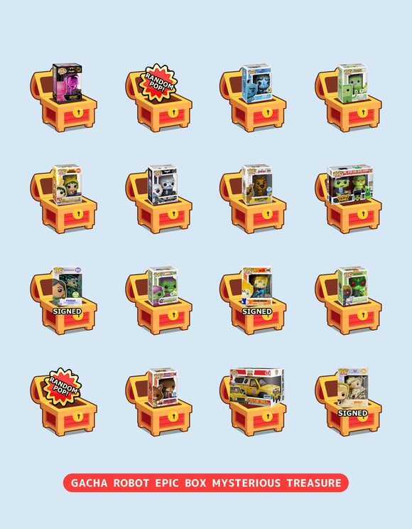 NEW Gacha Robot 'Epic Box' Mysterious Treasure