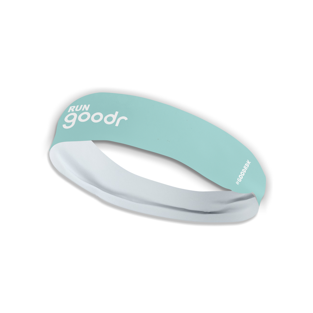 RUN Goodr Headband Teal