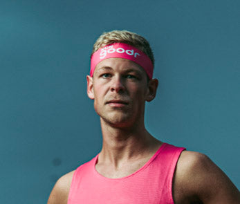 RUN Goodr Headband Pink