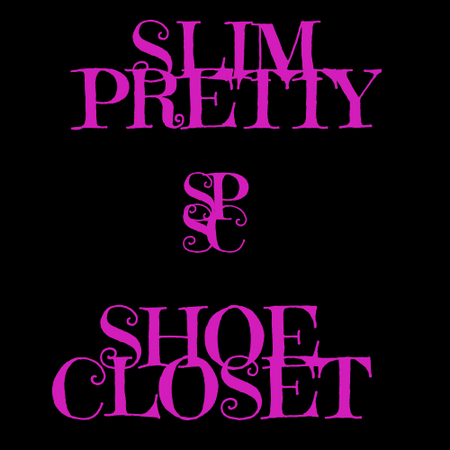SLIM PRETTY SHOE CLOSET