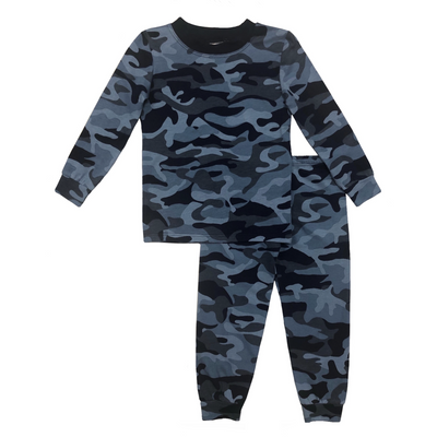 Navy Camo Pajamas