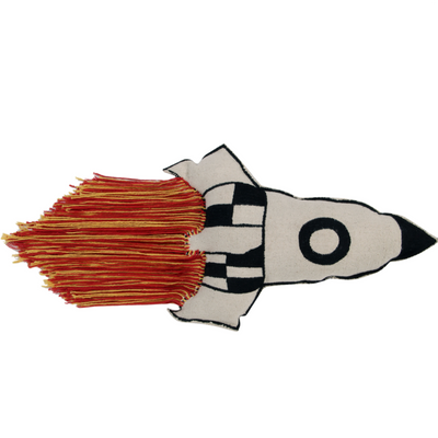 Washable Rocket Cushion