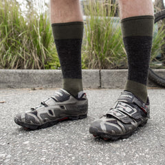 NSMB Wool socks - Black/Charcoal