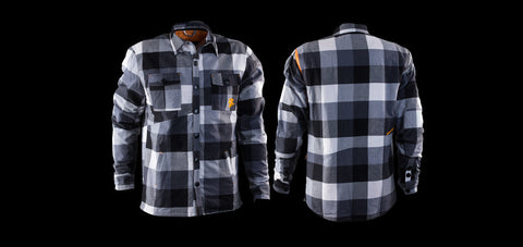 Black & White Race Face Loam Ranger Flannel Jacket (only XXL remaining!)