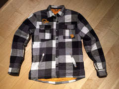 Black & White Race Face Loam Ranger Flannel Jacket