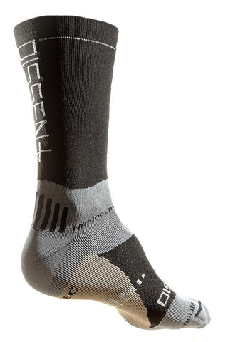 Dissent Supercrew Comp Nano Copper riding socks