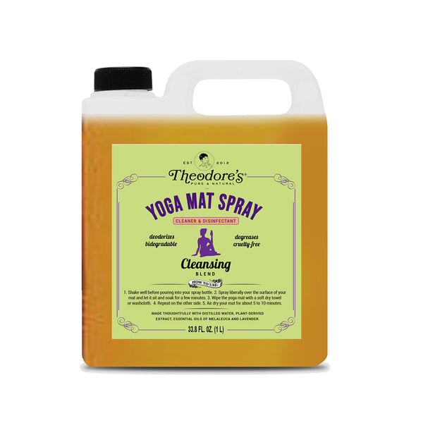 Yoga Mat Spray (Cleansing Blend)