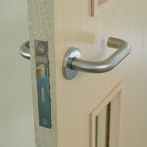 Satin Door Handle (Pair)