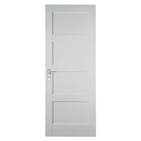 Primed 4 Panel Shaker (White) FD30