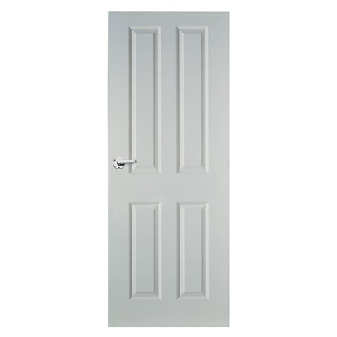 Primed 4 Panel Shaker Smooth (White)