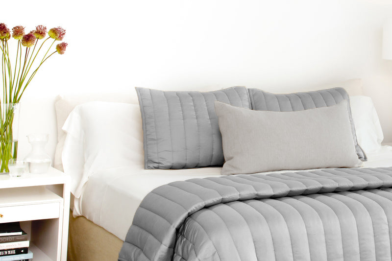 Gray Cooling Comforter