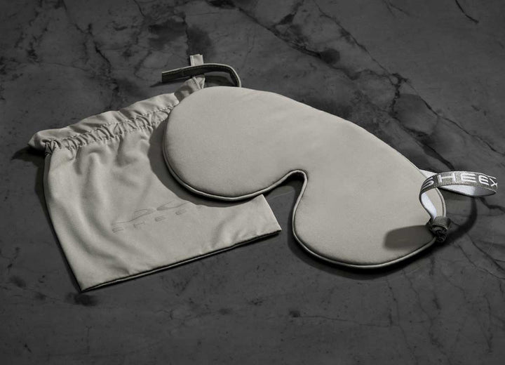 MIDNIGHT LABEL Cooling Sleep Mask + Travel Pouch