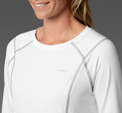 Women's Long Sleeve Tee white detail