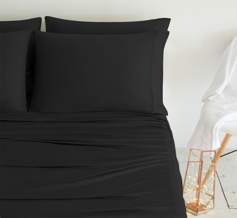 LUXURY COPPER Pillowcases black 2