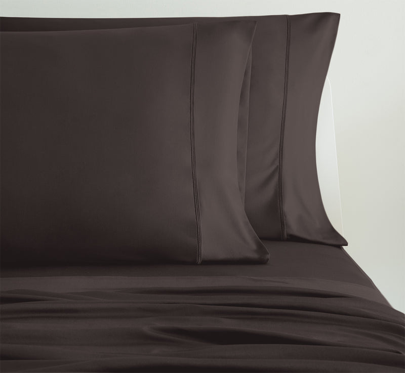 Luxury Copper Chocolate Color Pillowcases 2