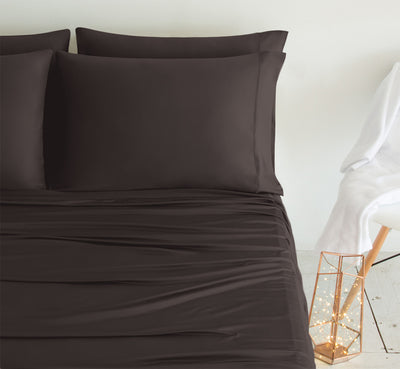 Luxury Copper Chocolate Color Pillowcases 3