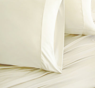 LUXURY COPPER Ivory Color Pillowcases 1