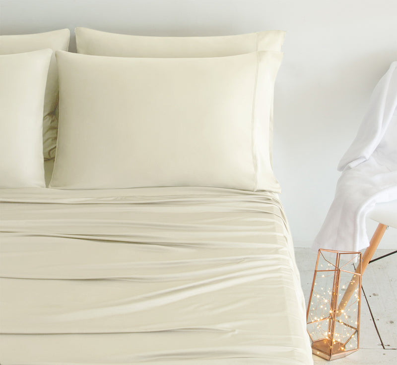 LUXURY COPPER Ivory Color Pillowcases 3