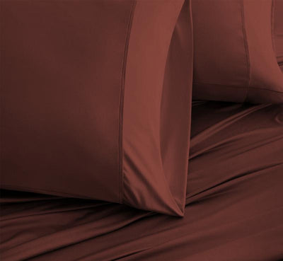 LUXURY COPPER Pillowcases rust 2