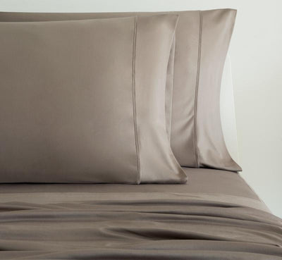 LUXURY COPPER Pillowcases taupe 1