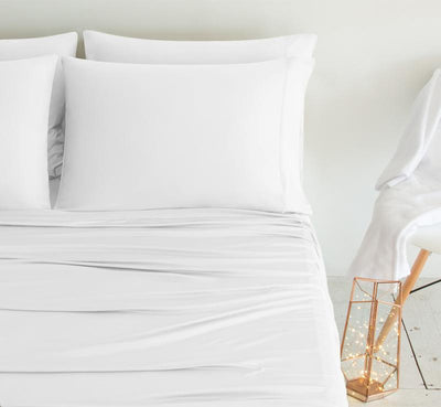 LUXURY COPPER Pillowcases white 3