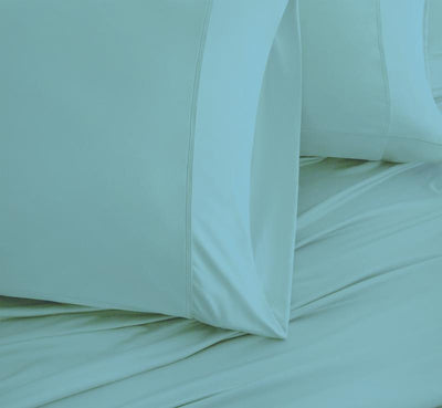 LUXURY COPPER Pillowcases aqua 3