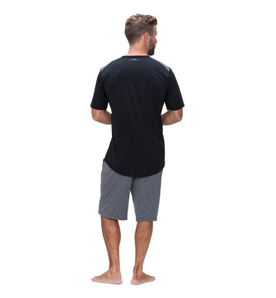 Men's Short Sleeve Easy Tee black back