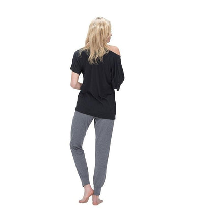828 Women's Short Sleeve Easy Tee black back