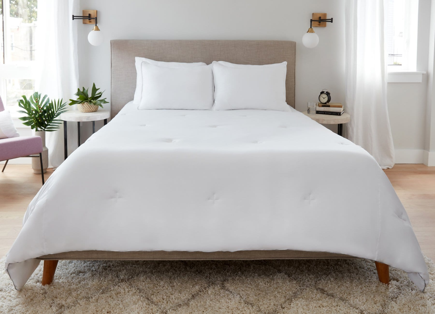 Original Performance All Season Comforter on bed