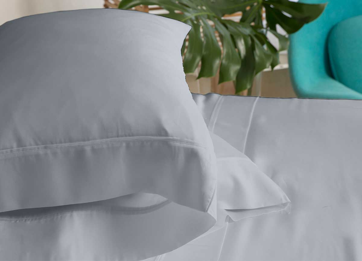 ARCTIC AIRE MAX Pillowcases shown in Charcoal #choose-your-color_charcoal