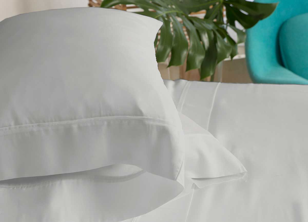 ARCTIC AIRE MAX Pillowcases shown in Silver #choose-your-color_silver