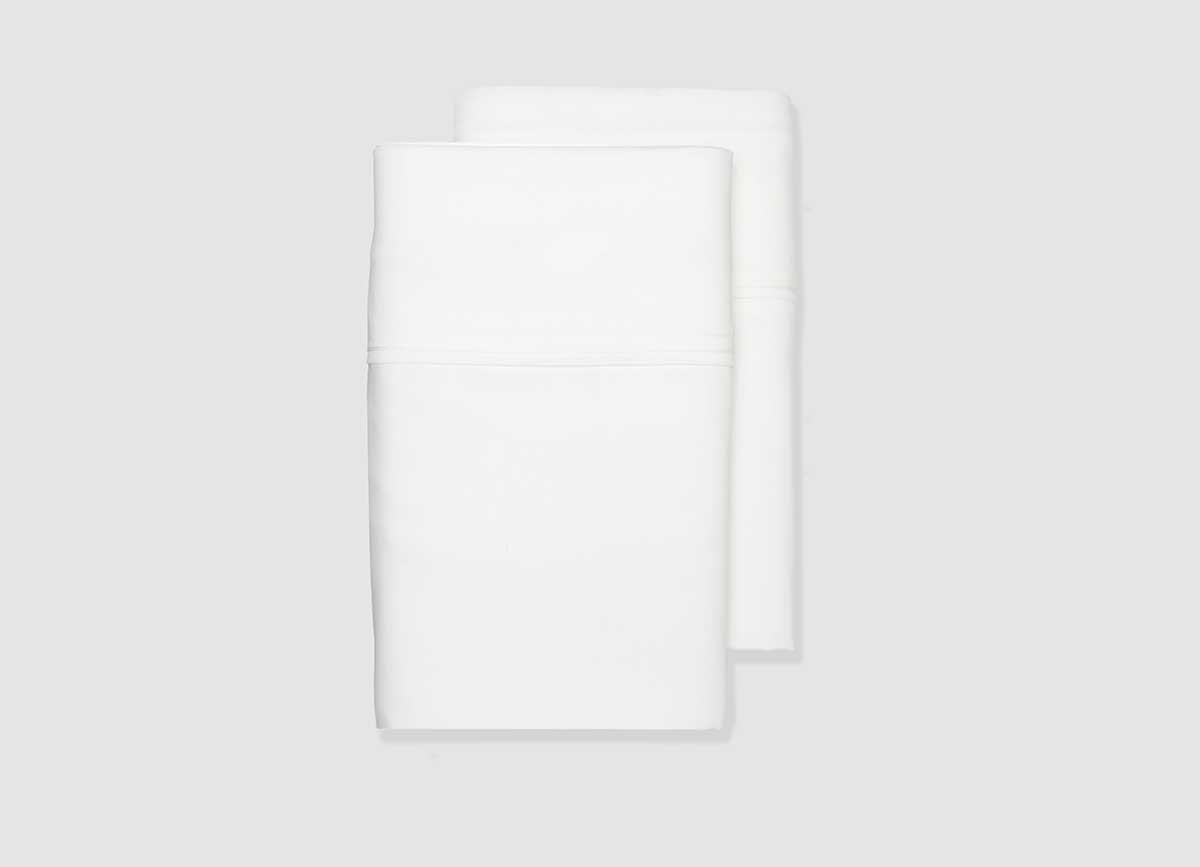 ARCTIC AIRE MAX Pillowcases shown in white  #choose-your-color_white