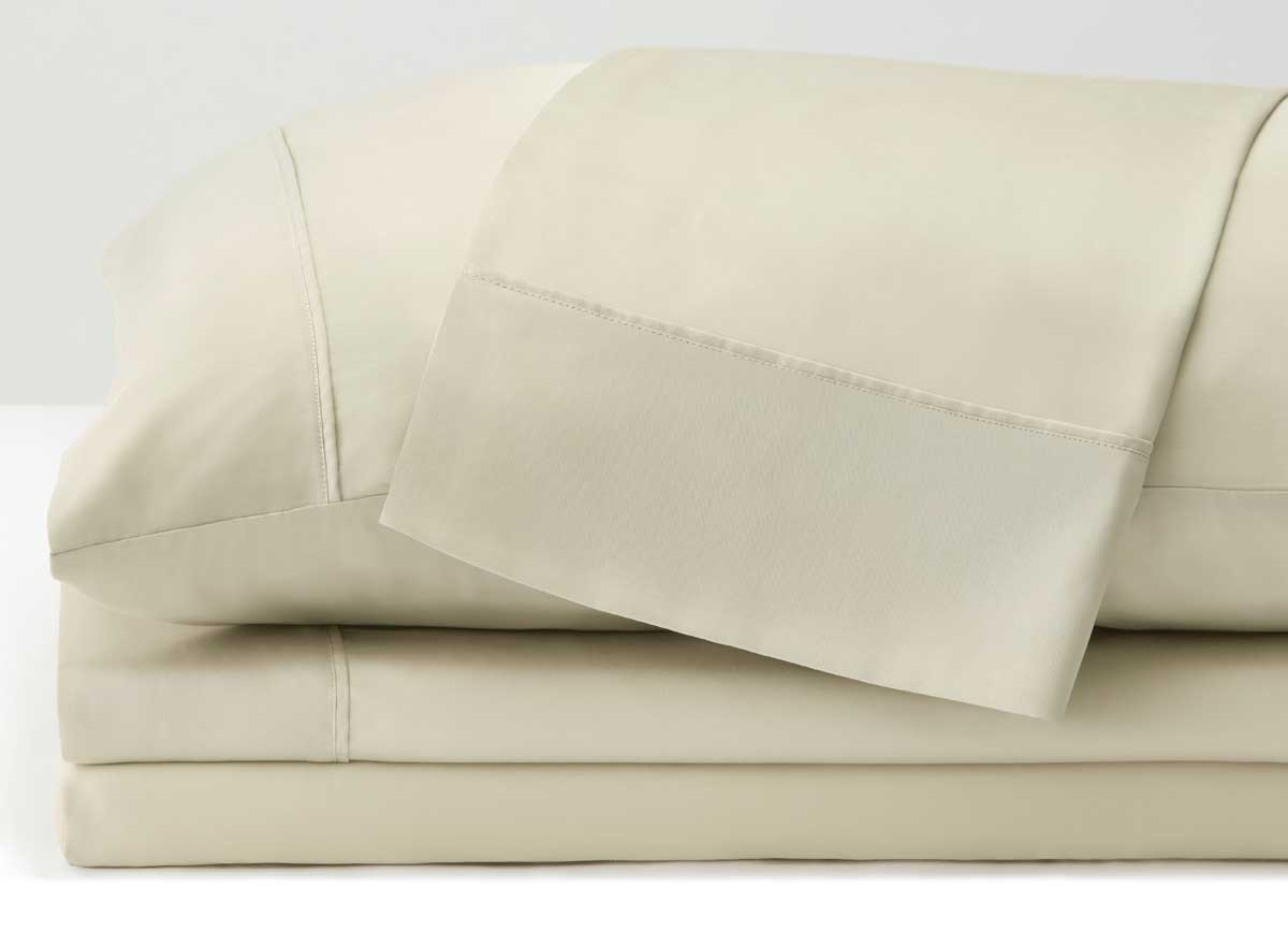 ARCTIC AIRE•MAX Sheet Set shown in Ivory #choose-your-color_ivory