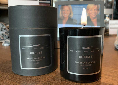SHEEX Candle Not Lit 8.5 oz - Breeze Scent #choose-your-scent_breeze