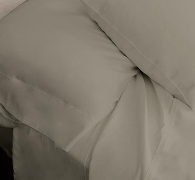 ECOSHEEX Bamboo Origin Sheet Set taupe 1