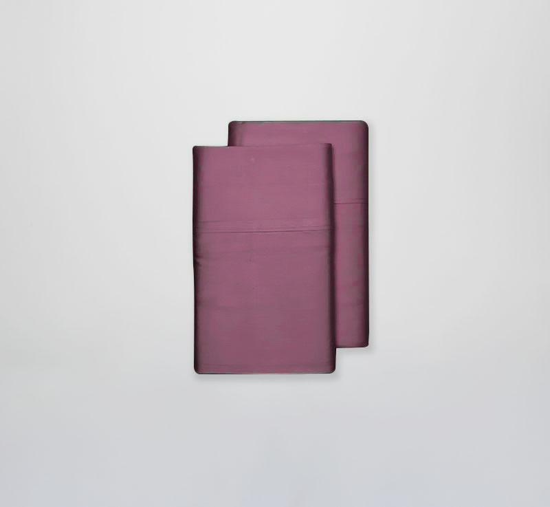 ECOSHEEX Bamboo Origin Pillowcases cranberry 2