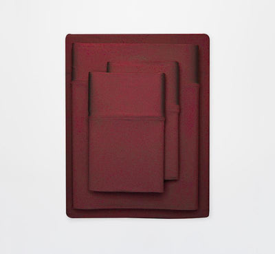 EXPERIENCE Sheet Set burgandy 2