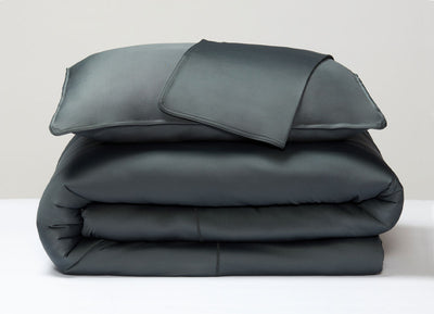 Forest Duvet Cover folded stack #choose-your-color_forest
