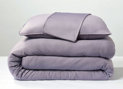 Lavender  Duvet Cover folded stack #choose-your-color_lavender