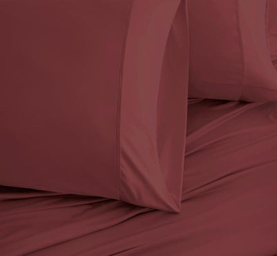 EXPERIENCE Pillowcases burgundy 3