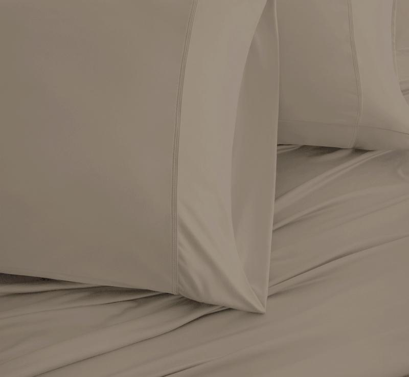 EXPERIENCE Pillowcases taupe 3